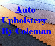 Auto Upholstery By Coleman